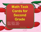Math Word Problems Task Cards