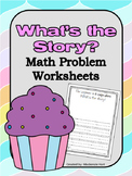 Math Word Problems: What is the Story?
