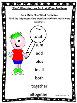Math Word Problems and Strategy Posters Freebie - Common Core Aligned