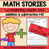 Addition and Subtraction Worksheets for Word Problems for Every Day