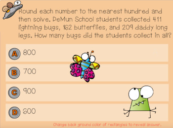 Word Problems Puzzle for PROMETHEAN Board