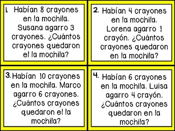 Math Word Problems in Spanish