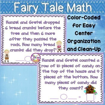 Word Problems  ~ Addition & Subtraction ~ 1st & 2nd Grades