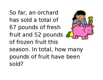 Math Word Problems using the four operations Guided Practice