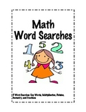 Math Word Search Bundle