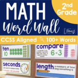 Math Word Wall {2nd Grade}