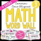 Math Word Wall (3rd Grade)