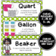 Math Word Wall Cards (3rd Grade - Polka Dots)