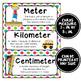 Math Word Wall Cards (5th Grade - Rainbow Colors)