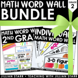 Math Word Wall Bundle 2nd Grade