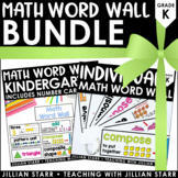 Math Word Wall Bundle: Kindergarten