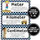 Math Word Wall Cards (3rd Grade - Nautical)