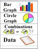 Statistics, Probability, Data and Graphs Illustrated Math Word Wall