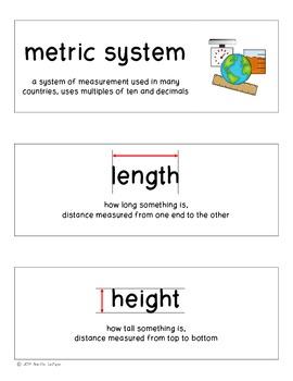 Math Word Wall Cards (Upper Elementary)