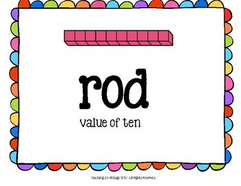 Math Word Wall/Focus Wall Place Value Ontario Grade 3 Math