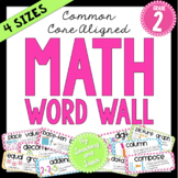 Math Word Wall (2nd Grade)