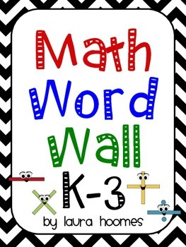 Math Word Wall K-3