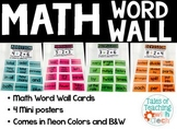 Math Word Wall / Math Focus Wall