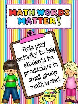 Math Words Matter!