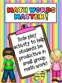 Math Words Matter!