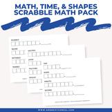 Math Words Scrabble Math Pack