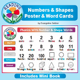 Reading With Color: Numbers & Shapes Poster & Word Cards