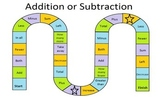 Math Words (add or subtract)