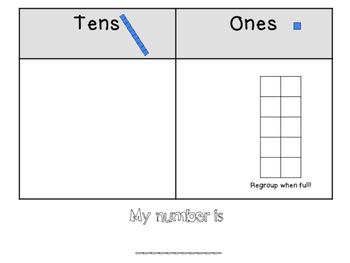 Math Work Mats-ADDITION, SUBTRACTION & PLACE VALUE-With and Without Regrouping!