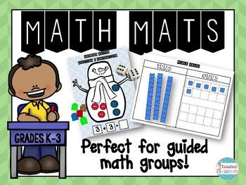 Math Work Mats Collection