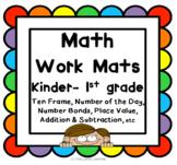 Math Work Mats K-1st