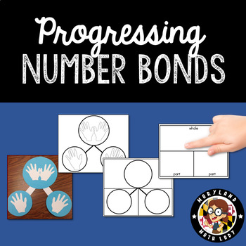 Math Work Mats: Number Bonds transitioning to Part Part Whole
