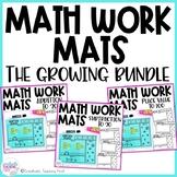 Math Work Mats - The Bundle