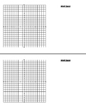 Math Work Paper with Graphs