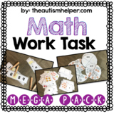 Math Work Task Mega Pack