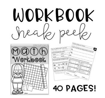Math Workbook THREE