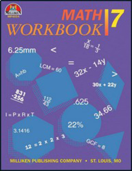 Math Workbook - Grade 7