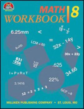 Math Workbook - Grade 8