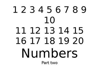Math Workbook - Missing Numbers - Number 2