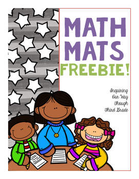 Math Workmats! {Freebie}