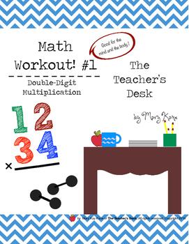Math Workout Double-Digit Multiplication