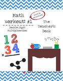 Math Workout Double-Digit Multiplication