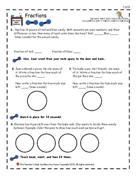 Math Workout: Fractions, Decimals, and Mixed Numbers