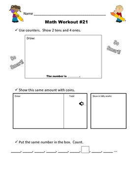 Math Workout Intervention: Lessons 21 - 40
