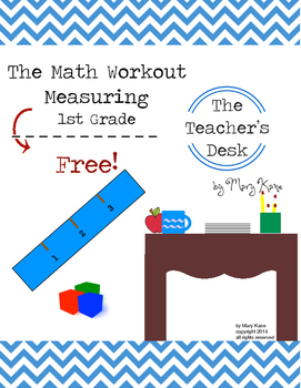 Math Workout Measuring and Time 1st Grade