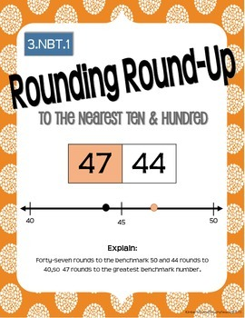 Math Works: 3.NBT.1 Rounding Round Up