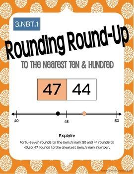 Math Works: 3.NBT.1 Rounding Round Up