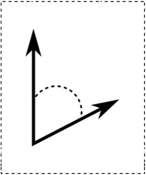 Math Worksheet 010 - Identify the type of angle.