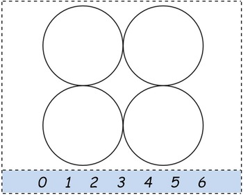 Math Worksheet 0107 - Common tangents on circles