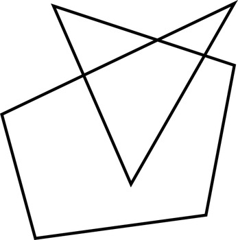 Math Worksheet 0021 - Simple closed curves or not