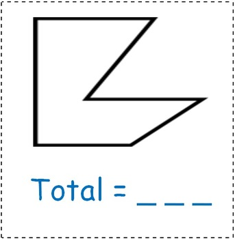 Math Worksheet 0028 - How many triangles in each polygon